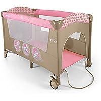 Milly Mally 1247Mirage de lit pour enfant de voyage Rose