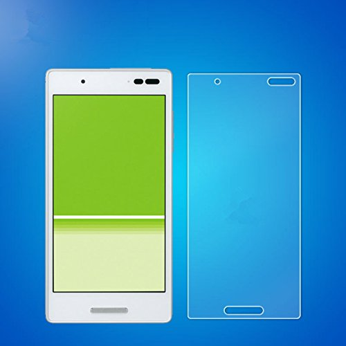 HKkais Qua phone QX KYV42 / DIGNO V 専用 Glass 強化ガラス 液晶保護フィルム(硬度9H /超薄0.33mm /2.5D ラウンドエッジ加工/高鮮明 /気泡ゼロ )