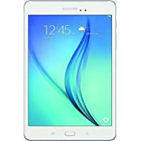 Samsung Galaxy Tab A 8-Inch Tablet (16 GB, White) SM-T350NZWAXAR Certified Refurbished