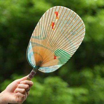 自由研究に!自然素材水うちわ風の作り方