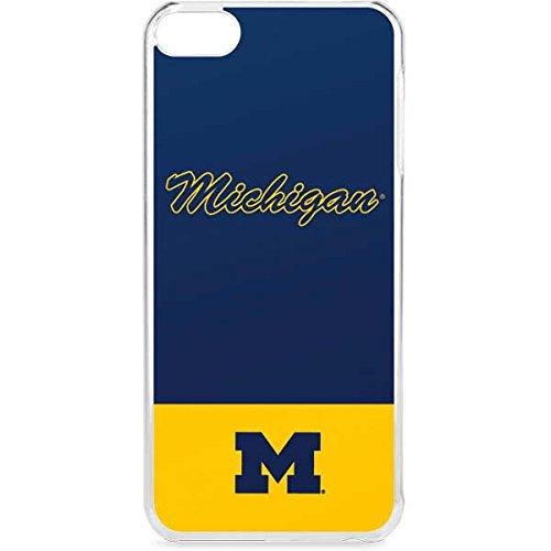 Skinit University of Michigan iPod Touch 6th Gen LeNu Case - University of Michigan Split Design - Premium Vinyl Decal Phone -