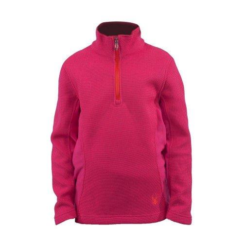 Spyder Valor 1/2 Zip Core Sweater Girl's Diva Pink/Sunrise XXL