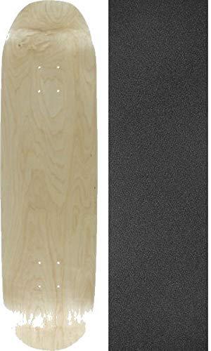 眼クレジット変換空白Skateboards w8自然スケートボードデッキ – 8.5