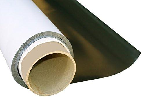 Lámina magnética blanco mate 1,5mm x 20cm x 31cm - crear imanes personalizados, adhiere a todas superficies metálicas: Amazon.es: Hogar