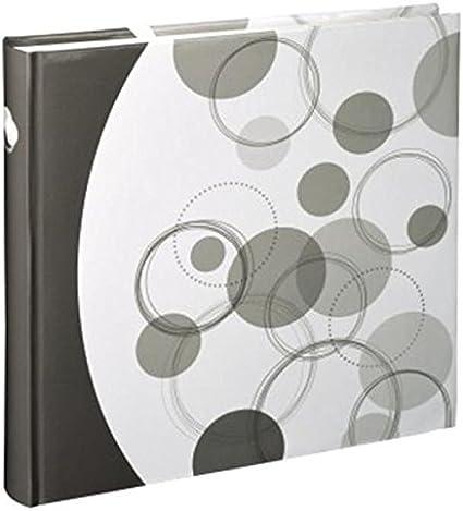 Hama Jumbo Puntino Album Foto Marrone//Bianco Marrone//Bianco 30 x 30 cm 80 Pagine o 320 Foto
