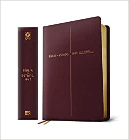 Bíblia de Estudo Nova Versão Transformadora: Capa Vinho