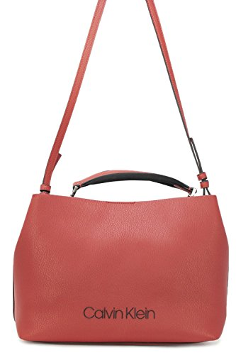 Rouge cm Pop Calvin Touch 30 à main Medium Klein Sac zw8wq4U