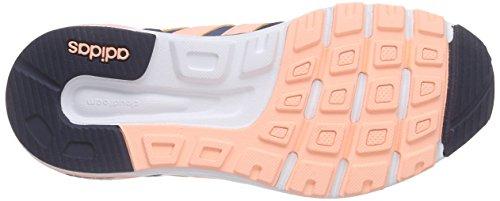 adidas Cloudfoam 8tis W, Zapatillas de Deporte Exterior Para Mujer Azul / Blanco (Azucen / Nadecl / Ftwbla)