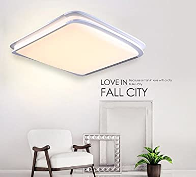 Style home® 54W LED Deckenlampe Deckenleuchte Küchenlampen 6507 ...