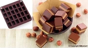 Silikomart Moule A Chocolats En Silicone Smo 11 Toffee De Cake