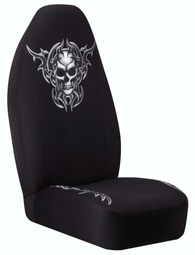 Axius 5075587 Odm Tribal Skull Universal Bucket Seat Cover