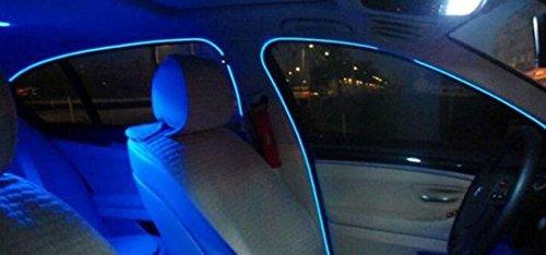 1 x Blue 1 m EL AMBIENT LIGHTING 12 V Inverter//Adapter Light Strip Strip Light Ambient Lighting for Modern Interior Lighting Elegant Look Indoor Works