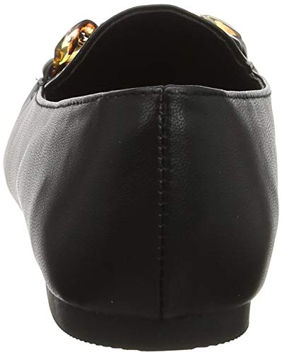 Femme Jorty New black 1 Noir Mocassins Look qt77w54