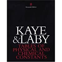 Tables of Physical and Chemical Constants (Kaye & Laby)