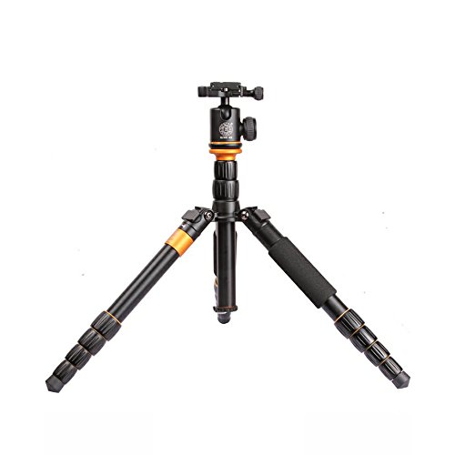4.4ft Travel Tripod Camera Monopod With Detachable...