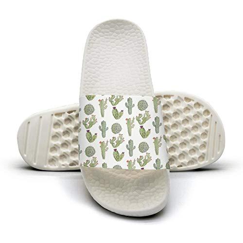 Green Womens Cat Cactus Outdoor Womens Green Outdoor Indoor Slides Soft Slipper Open Toe Sandals B07H5LFZR6 Parent 742e36