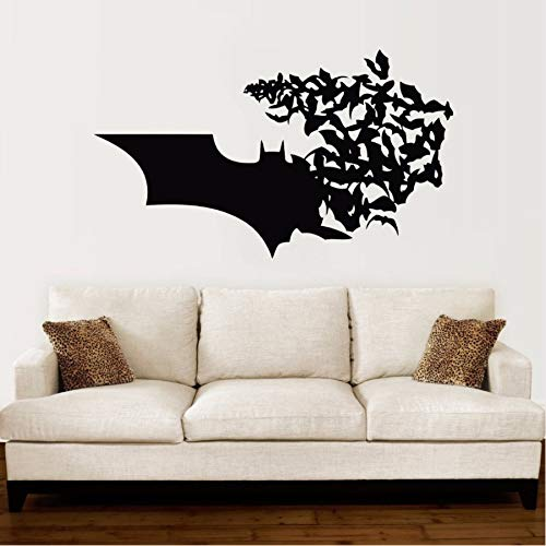 PAWANG Logotipo de Batman Tatuajes de Pared Bat Comics Superhéroes ...