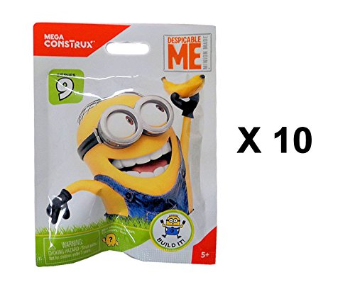 df050b760 Despicable Me Minion Made Series 9 Mini Figure Blind Bag Party Favours -  Pack of 10