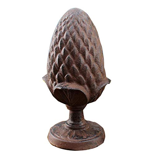 The taste of home Cast Iron Craft Classic Pine Cone Ornament Villa Garden Decoration Home Hotel Clubhouse Decorations