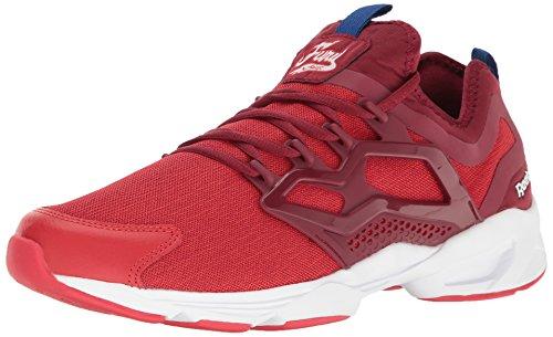 Reebok Menns Raseri Tilpasse Uc Mote Sneaker Primal Rød / Kollegialt Burgunder / Hvit / Cllgryl