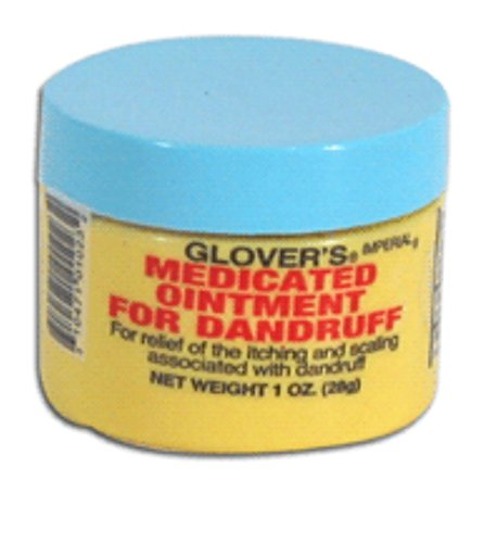 Glover's Medicated Ointment For Dandruff, 1 Ounce - Glovers Medicated Ointment
