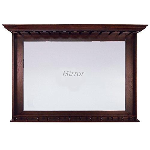 Bar Mirror in English Tudor Finish