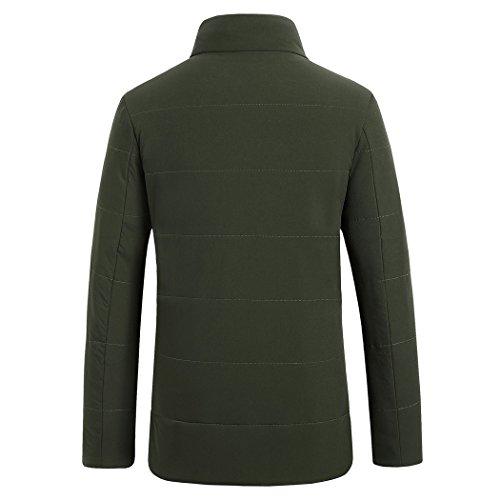 Hhy Verde Cotone Degli Dimagrire Imbottito inverno Militare Colore Tempo Libero Di 180 Uomini Per Del Il Collare 1vYU1rn6q