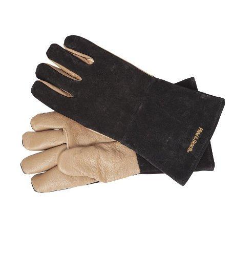 (Heavy Duty Fireman Shield Fire Resistant Safety Gloves, One Size)