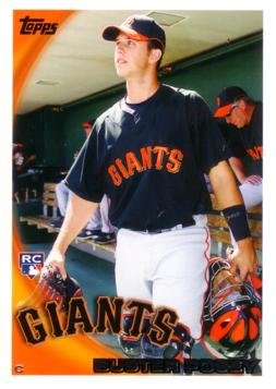 Topps Baseball Buster Posey Rookie