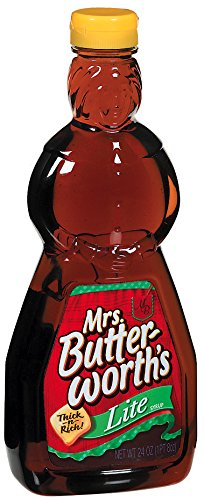 Mrs. Butterworth's Syrup, Lite, 24 Ounce