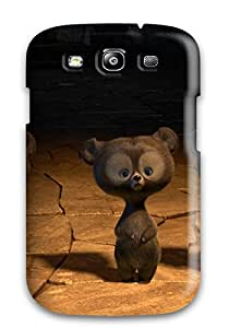 ZippyDoritEduard Galaxy S3 Well-designed Hard Case Cover Brave Triplets Bears Protector