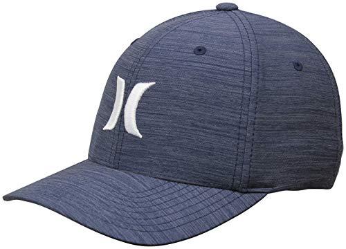 Hurley Dri-Fit Cutback Hat - Obsidian - L/XL (White Hurley Hat)