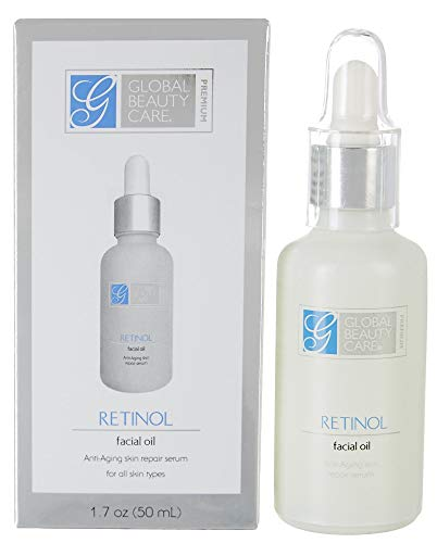 Global Beauty Care Premium Retinol Facial Oil-1.7 oz Bottle (Pro Retinol Skin Cream Global Beauty Care)