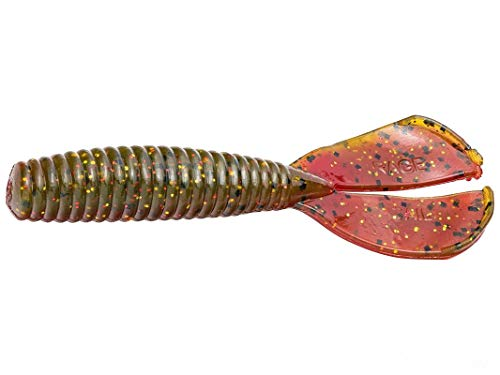 Strike King Rage Twin Tail Baby Menace Grub Falcon Lake Craw ()