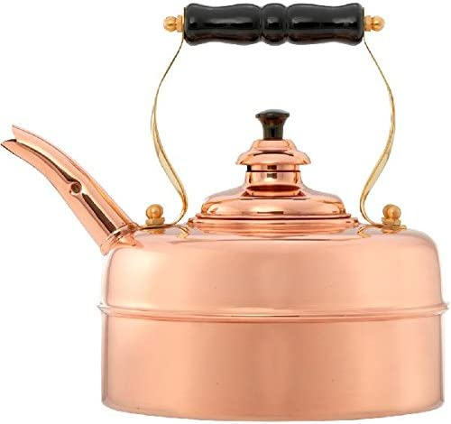 Simplex Kettles Kensington Solid Copper No. 1