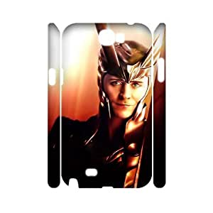 PCSTORE Phone Case Of Thor Loki For Samsung Galaxy Note 2 N7100