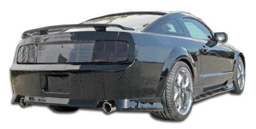 Duraflex ED-BIB-307 Stallion Rear Bumper Cover - 1 Piece Body Kit - Fits Ford Mustang 2005-2009