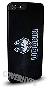 Connecticut Huskies Cell Phone Hard Plastic Case for iPhone 5 5s