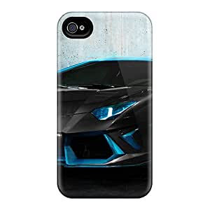 Extreme Impact Protector CMRUZ20561LLGlY Case Cover For Iphone 4/4s