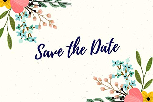 (30 Save The Date Cards for Wedding, Engagement, Anniversary, Baby Shower, Birthday Party, Postcard Invitations, Blank Event Announcements,)