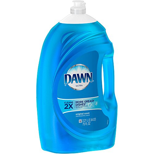 Washing With Liquid Detergent