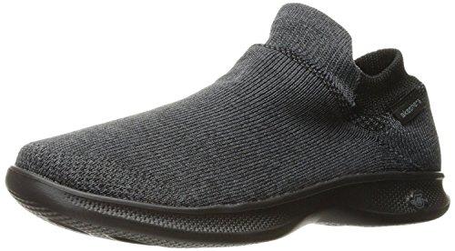 Skechers Performance Women's Go Step Lite-Ultrasock Walking Shoe,black,8.5 M US