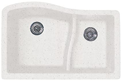 Swanstone Kitchen Sink | Swanstone Quls 3322 075 32 Inch By 21 Inch Undermount Large Small