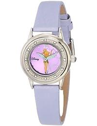 Women's TK1008 Tinkerbell Purple Sunray Dial Purple Strap Watch