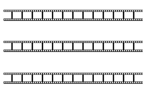 Beistle S50088AZ3, 3 Piece Filmstrip Border Trims, 36.75