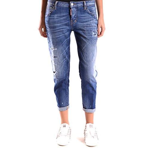 e09114b27c MUJER•ROPA · Vaqueros. Dsquared2 Mujer S75LA0727S30342470 Azul Algodon Jeans  outlet. Dsquared2 Mujer S75LA0727S30342470 Azul Algodon Jeans outlet