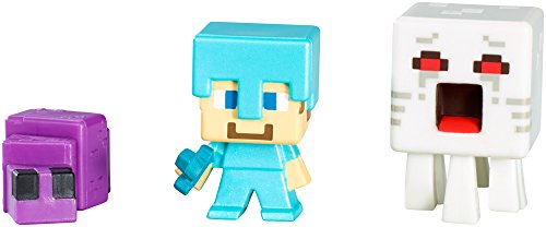 Minecraft Collectible Figures Set L (3-Pack), Series - Set Collectibles Mini