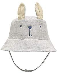 5feb6819233 Baby Toddler Kids Breathable Sun Hat Animal Bucket