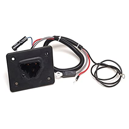 World 9.99 Mall 48V Delta-Q Charger Receptacle Fits EZGO, 602529 on