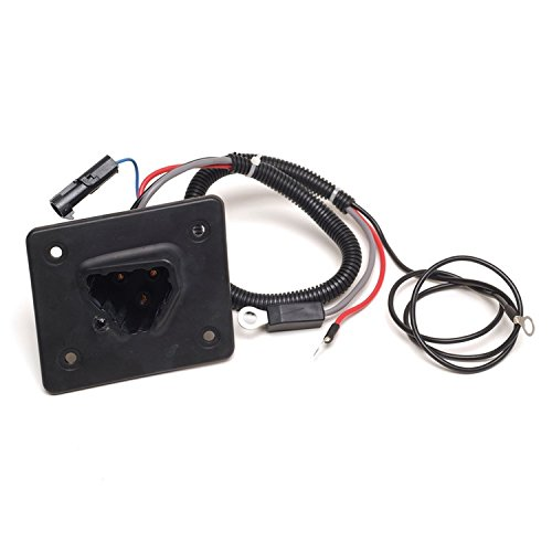 - World 9.99 Mall 48V Delta-Q Charger Receptacle Fits EZGO, 602529